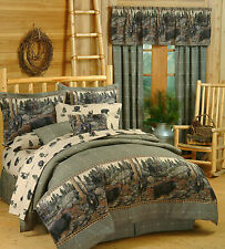 The Bears Comforter Set - Rustic Lodge & Cabin Bedding