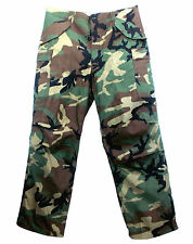 RARE 100% GENUINE USA MILITARY ISSUE M65 WOODLAND CAMOUFLAGE TROUSER NEW