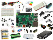 Raspberry Pi Model B+ Ultimate Starter Kit - Wifi, HDMI, Breadboard, SD Card