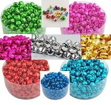 Jingle Bells Christmas Colorful Craft Beads Charms 6x8mm 10 COLORS US SELLER!!!