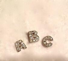 Linx & More Sterling Silver Cubic Zirconia Initial Floating Charm for Locket