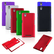 Multicolor Matte Rubberized HARD Snap On Phone Cover Case forZTE ZMAX Z970