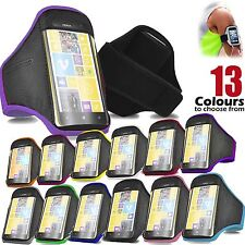 Adjustable Sports Cycling GYM Armband Strap Pouch Mobile Holder All Nokia Lumia