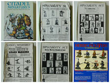 Citadel 1980's Rare Complete Box Sets KNIGHTS/LIZARDMEN/DUNGEON/CHAOS/FIGHTERS