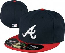 New Era 59fifty Atlanta Braves Fitted Hat Authentic