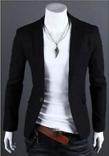 New Stylish Men's Casual Slim Fit One Button Suit Blazer Coat Jacket Tops