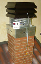 Does your fireplace make smoke? Chimney exhaust fans Pizza oven indoor barbeques