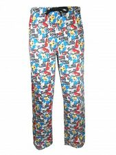 New Sonic The Hedgehog Men's Lounge Pants PJ Bottoms Retro Gift For Him Arcade