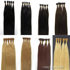8 colours and 5 lengths Asian Stick-tipped Remy Real Human Hair Extension Beauty
