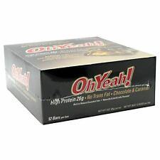 Oh Yeah! Bar, ISS, Box of 12, High Protein Bars