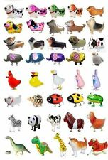 WALKING ANIMAL BALLOON PETS AIR WALKER FOIL HELIUM BIRTHDAY PARTY MANY STYLES