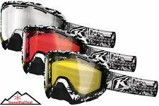 Klim Radius Goggles Ink'd Inked Frame Snowmobile Snowmobiling Goggle