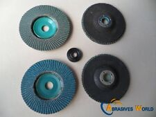 40 X 100mmX15mm  Flap Sanding Grinding Polishing Wheels Discs Factory Clearance