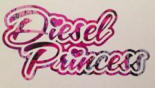 Diesel Princess Truck Vinyl Decal Chevy Ford Dodge Camo Cowgirl Muddy Country