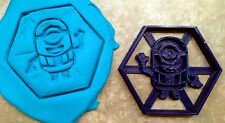 Minion Hex - Despicable Me Cookie Cutter - Choice of Sizes - 3D Printed Plastic
