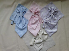 Boys New Polyester Cravats with Matching Hankies