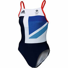 NEW Adidas Speedo Swimming costume Olympic Team GB London 38 40