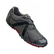 c/o Mens FootJoy MProject 55247 Charcoal/Black WaterProof Spikeless Golf Shoes