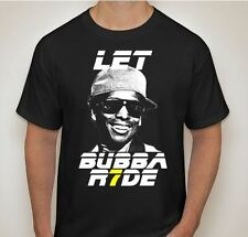 Let Bubba Ride Supercross T Shirt 100% Cotton Black (S,M,L,XL) James Stewart