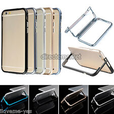 Ultra Thin Luxury Aluminum Metal Bumper Frame Holder Stand Case For iPhone 6 4.7