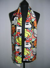 ladies neck scarf new mickey mouse/ owls / black@white