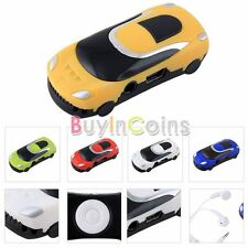 Portable Car Style USB Digital MP3 Music Player Support Micro SD TF Card BE