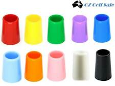 "NEW 12PACK .370 GOLF IRON COLOR FERRULE FERRULES 1/2"" TALL - Choice of 10 Colors"