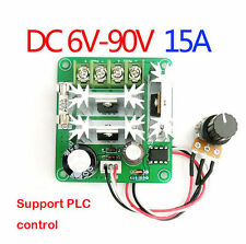 6V-90V DC 10A Pulse Width PWM Motor Speed Regulator Controller Switch UK seller
