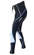 Zimco Pro Winter Cycling Tight Thermal Padded Cycle Tight/Pant Black/White 2219