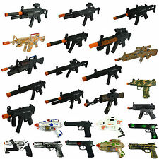 Toy Guns Pistol Battery Powered Plastic Assault Rifle Plastic Toy Machine Gun