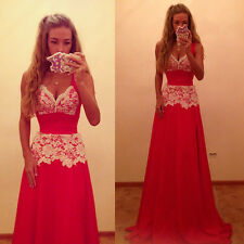 2014 Sexy Women's Evening Party Ball Prom Gown Formal Bridesmaid Cocktail Dress