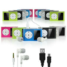 16GB MP3 Player With LCD Display,FM Radio+USB Charge Cable + Earphone+Aux Cable