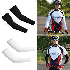 NEW 1 Pair Cycling Bike Outdoor Arm Sleeve UV Sun Protection Warmers Oversleeves