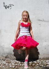 Oopsy Daisy Girl NEW quality wide Fuchsia pettiskirt petticoat 2Y to Ladies 6XL