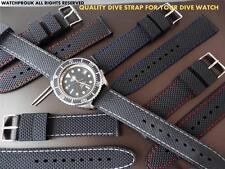 QUALITY RUBBER DIVE STRAP BAND FOR YOUR VINTAGE SICURA DIVE WATCH