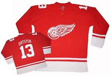 NWT Pavel Datsyuk #13 Detroit Red Wings NHL Men's V-Neck Hockey Jersey