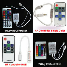 Wireless IR/RF Dimmer Remote Controller for  3528 5050 RGB/White LED Strip Light