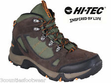 MENS WALKING BOOTS - HI TEC - SIZE 7 - 16 WATERPROOF HIKING BOOTS RRP £79.99
