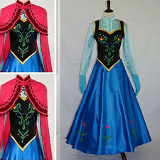 Fancy Dress Adult Lady Costume Cosplay Dress Prom Evening Party Prom Ball Gown