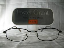 Foster Grant Council Brown Fashion Reading Glasses +1.75 2.25 2.75
