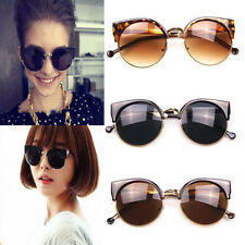 Fashion Retro Vintage Unisex Women Men Cats Eye Sunglasses Eyewear Eyeglasses MJ