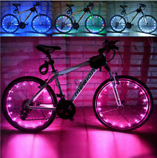 Cool One Wheel Bright 20 LEDs Bicycle Cycling Light Safety 6 Colors  Accessory