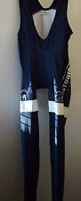 NEW Doltcini Pro Blue Cycling Bibtights with Pad/Insert