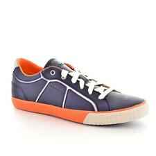 Geox Respira Mens Casual Fashion Sneakers  Usmart Navy