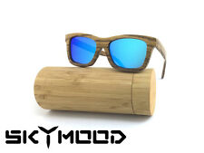 Wood Sunglasses Polarized Mens Wooden Sunglasses Bamboo Glasses With Bamboo Box