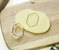 The Legend of Zelda Link Rupee Rupie Cookie Cutter - Made from Eco Material