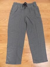 NWOT Mens Kenneth Cole Reaction Charcoal Gray Lounge Sweat Pants Size XL