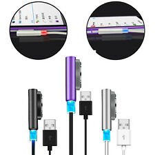 1M/3FT 2M/6FT Metal Magnetic Charging LED Cable For Sony Xperia Z1 Z2 Z3 Compact