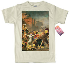 The Intervention of the Sabine Women - Emoji Painting T shirt Design