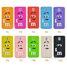 New 3D Chocolate Rainbow Super Soft phone case for samsung galaxy Note 3 N9000